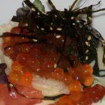 Caviar rojo de Alaska en Alejandro del Toro