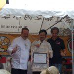 Raúl Magraner y la paella en Japón